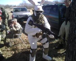 Military bunny