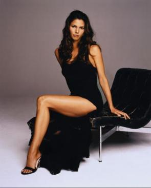charisma carpenter – black dress
