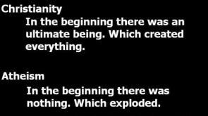 Christianity Vs Atheism
