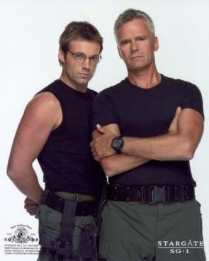 Daniel Jackson and Col O'Neil