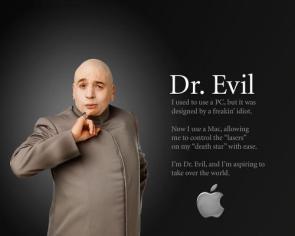 Dr Evil Mac Advertisement