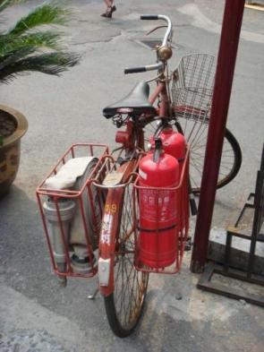 Fire Truck Bike