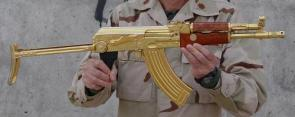 Gold Plated AK-47