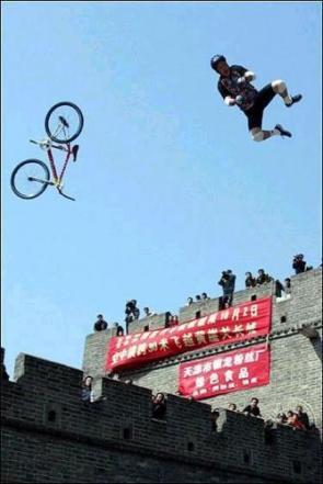 Failed Great Wall Jump