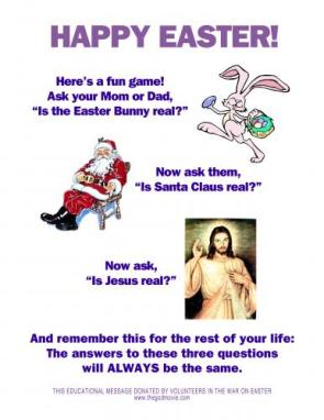 happy easter – is the easter bunny real?