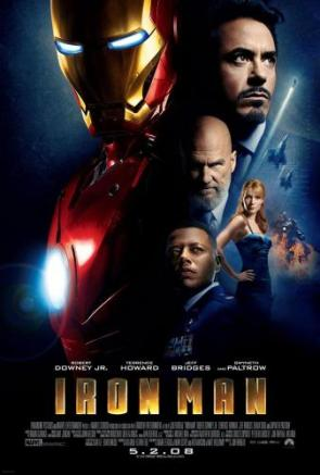 International Iron Man Movie Poster