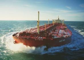 Fully Loaded Super Tanker