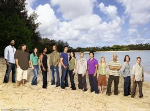 Lost Cast On Beach