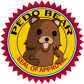 pedobear seal of approval HQ