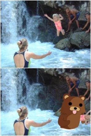 Pedobear Jump Attack