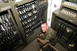 Military Weapons Room