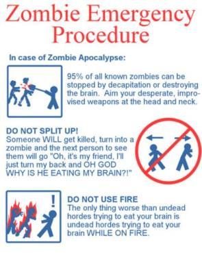 Zombie Emergency Procedure