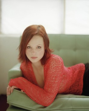 Thora Birch in Red