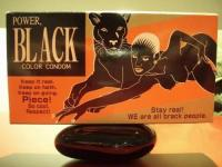 Black Color Condoms