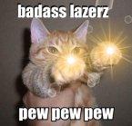 badass lazerz – pew pew pew
