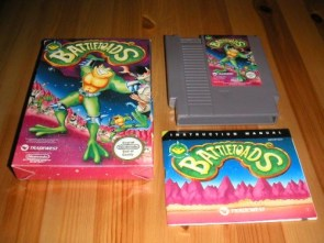 Battletoads NES game