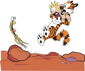 Calvin & Hobbes Vs Alien