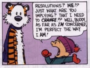 Calvin & Hobbes – Resolutions