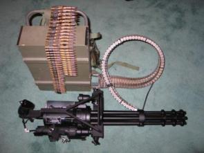 Chain Gun with ammo box