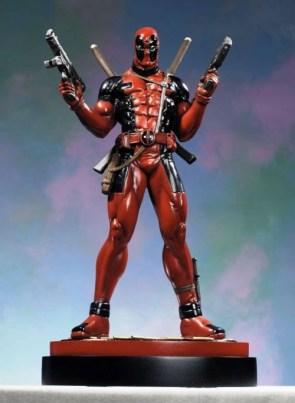Deadpool Statue