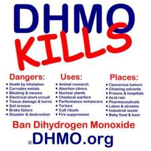 DHMO Kills!