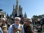 mccain visits disney world