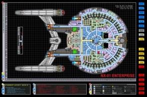 NX-01 Enterprise Layout
