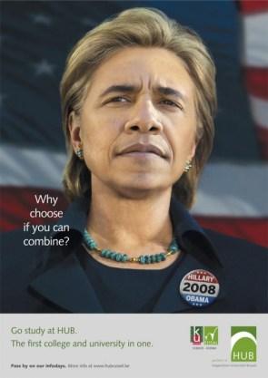 Hillaryobama – The Perfect Candidate