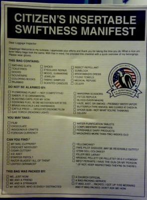 Citizen's Insertable Swiftness manifest