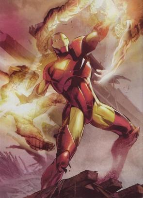 Iron man Vs Bad Men