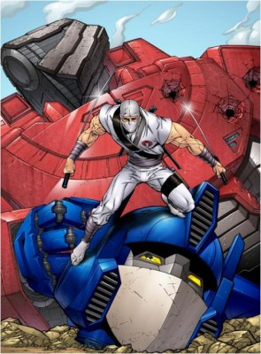 Storm Shadow Vs Optimus Prime