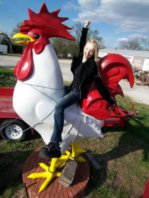 Girl Riding Giant Cock