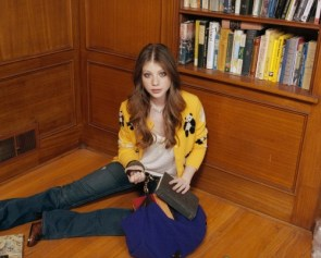 Michelle Trachtenberg in Library
