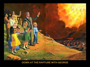 Down at the rapture with George