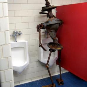 Rusty Robot Pee