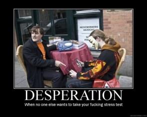Scientology Desperation