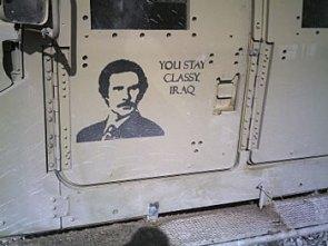 You stay classy iraq