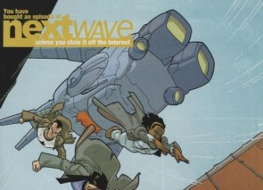 you have bought an episode of nextwave