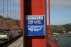 Bridge Suicide Sign