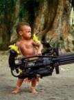 Tribal Machine Gunner