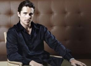 Christian Bale – Black Shirt Sexiness