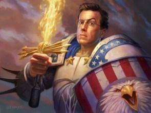 Stephen Colbert – American Soldier
