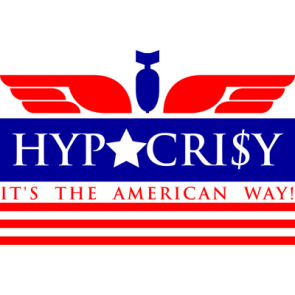 Hypocrisy – It's the american way