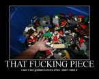 Legos – That Fucking Piece