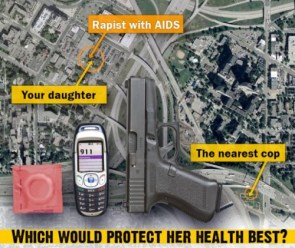 Which would protect her health best?