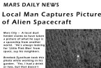 Local man Captures Picture of Alien Spacecraft