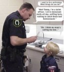 What does a police man do?