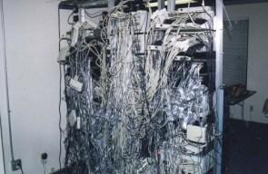 Fine network cable run