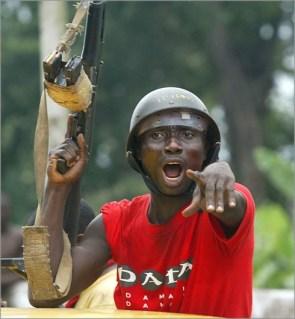 Liberian solider