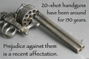 20 shot handguns